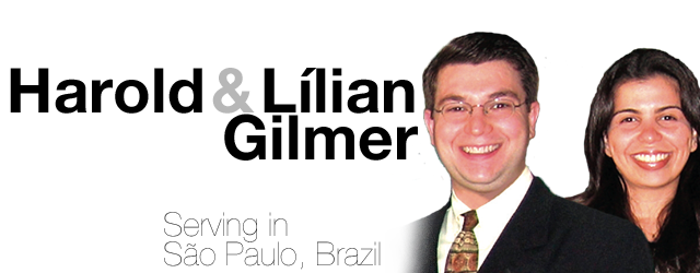 Ralph and Lilian Gilmer, missionaries to Sao Paulo, Brazil