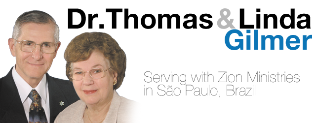 Tom and Linda Gilmer, Missionaries to Sao Paulo, Brazil