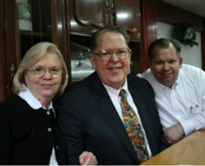 Dr. and Mrs. William Patterson and Dr. Bill Patterson