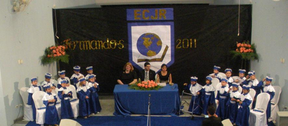 Jimmy Rose Christian School's first kindergarten graduation