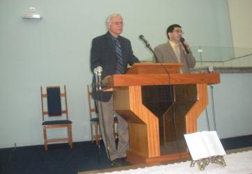 Rom and Dr. Peterson in Londrina