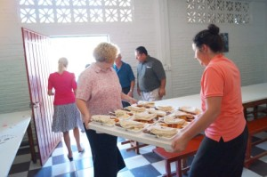 Over 3000 meals served each week