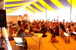 Reunion Under the Big Tent