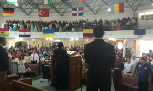 Missions Conference at Bible Baptist Church, in San Luis Potosi, Mexico