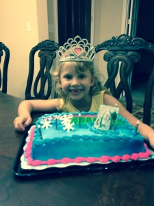 Victoria turned 6 on  October 27, 2014