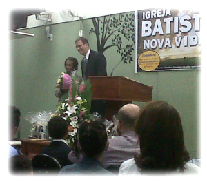 Pr. Sean Lunday and Miss Alzira.