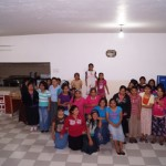 One of the girls Bible classes