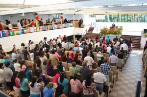 The church in Cuernavaca continues to grow.